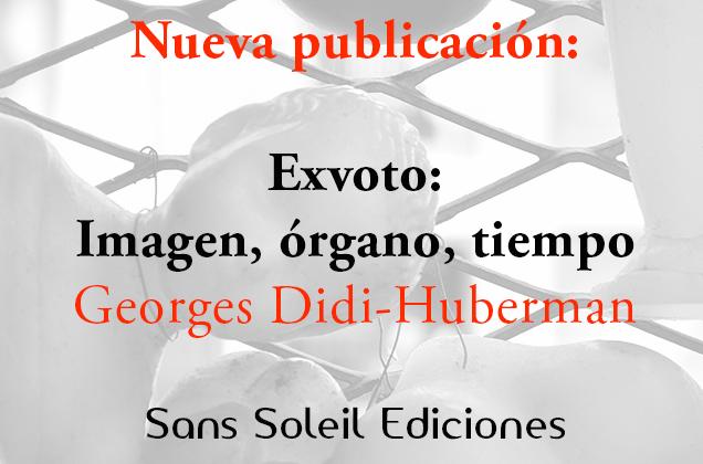 Nuevo libro de Didi-Huberman